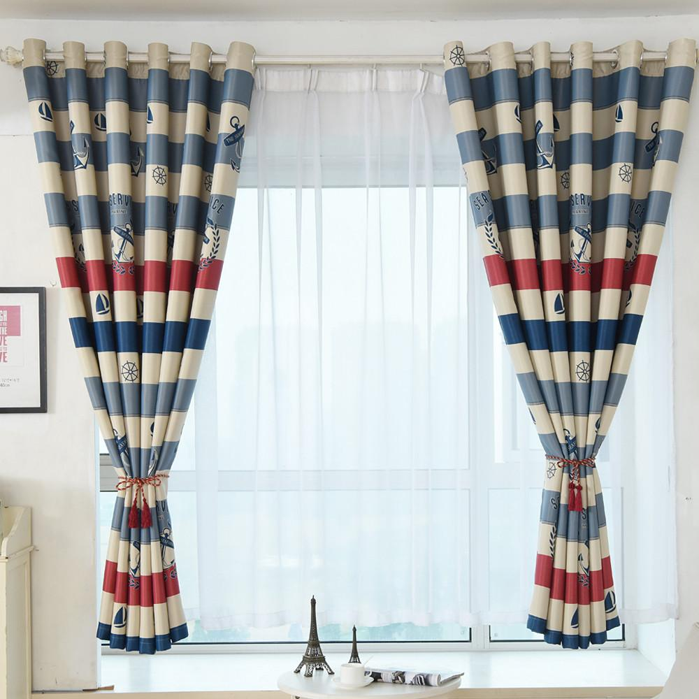 Window coverings types  love tree print shading curtain door window curtain drape panel