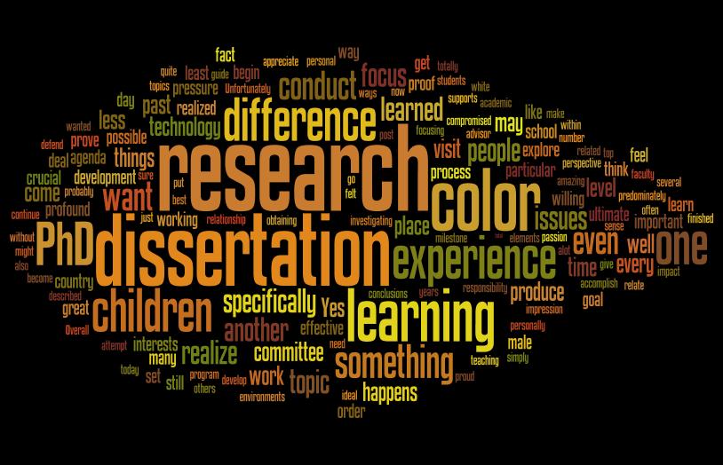 Dissertation speech language therapy