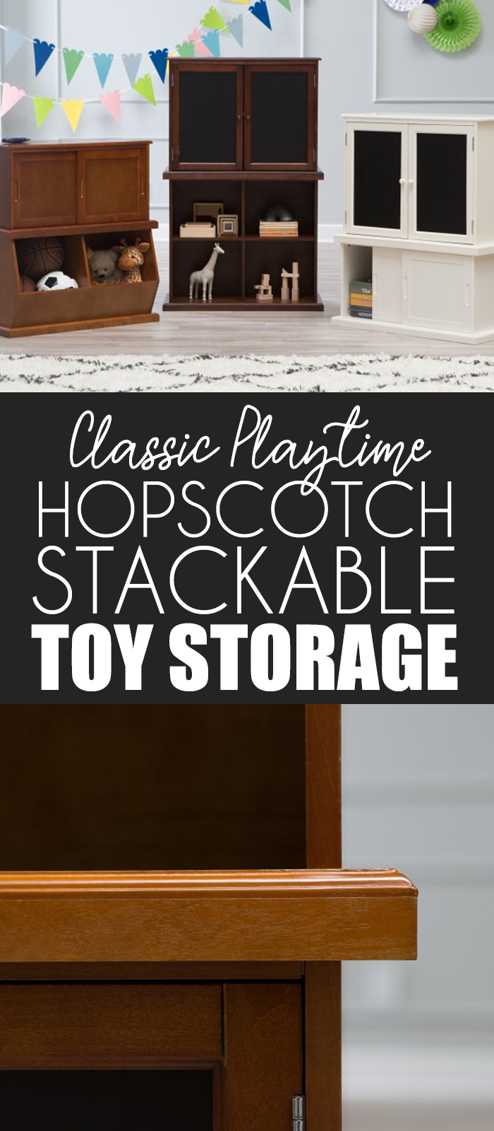 The Clic Playtime Hopscotch Stackable Toy Storage Throws Rotation Into Regular Routines To Keep Same Old Toys And Room From Feeling Stale