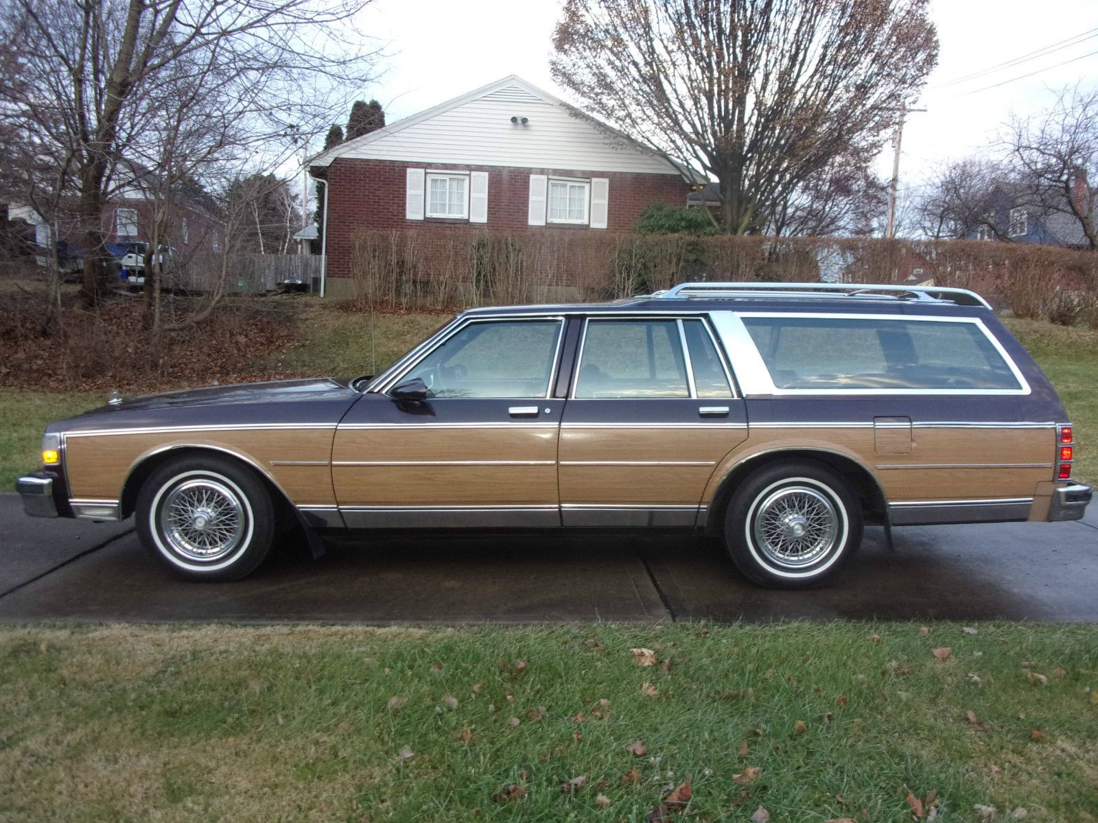 1989 Chevrolet Caprice Estate Wagon Chevrolet Caprice Chevrolet