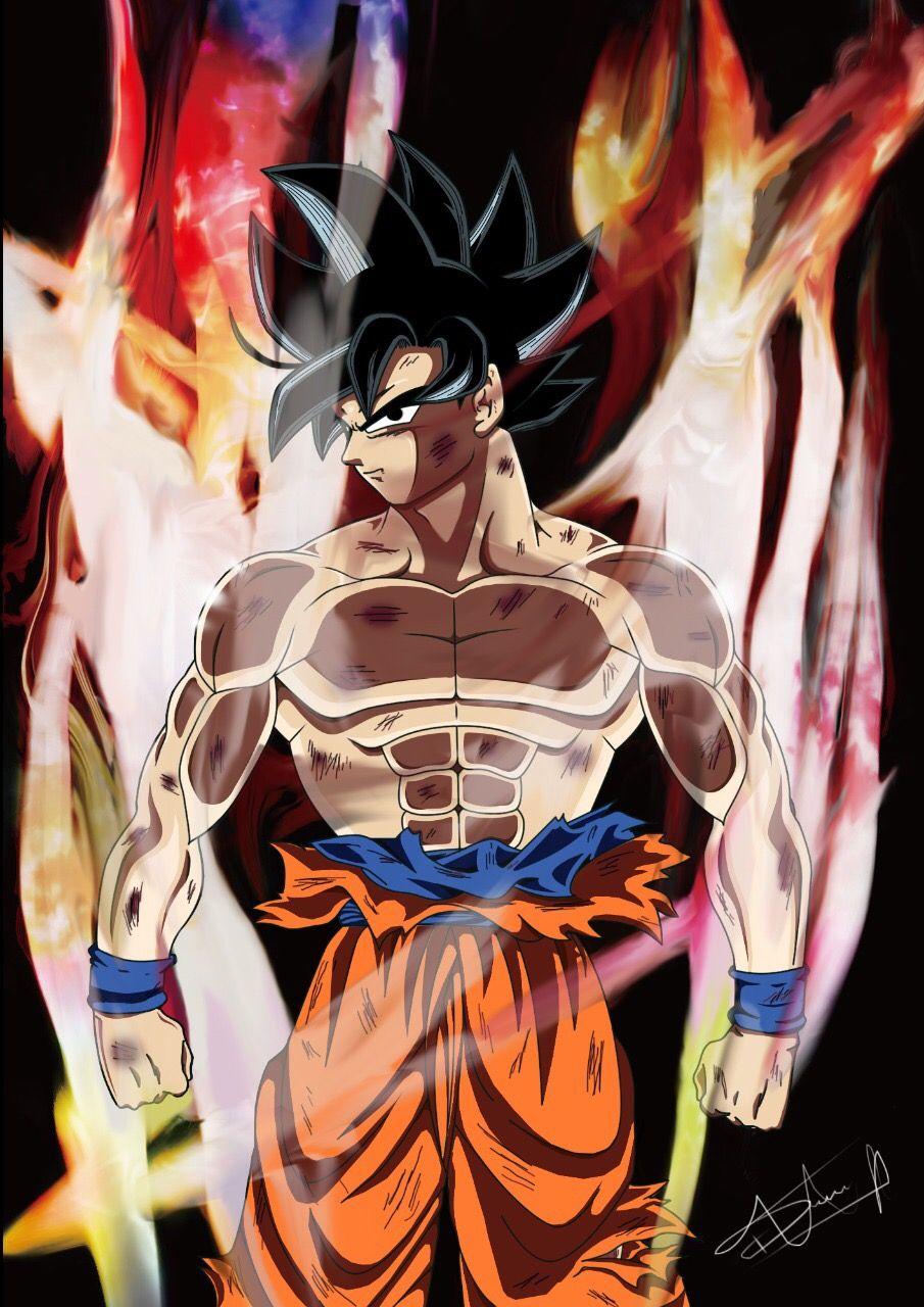 Goku Limit Breaker Dragon Ball Super Wallpapers Captain America Wallpaper Dragon Ball Super