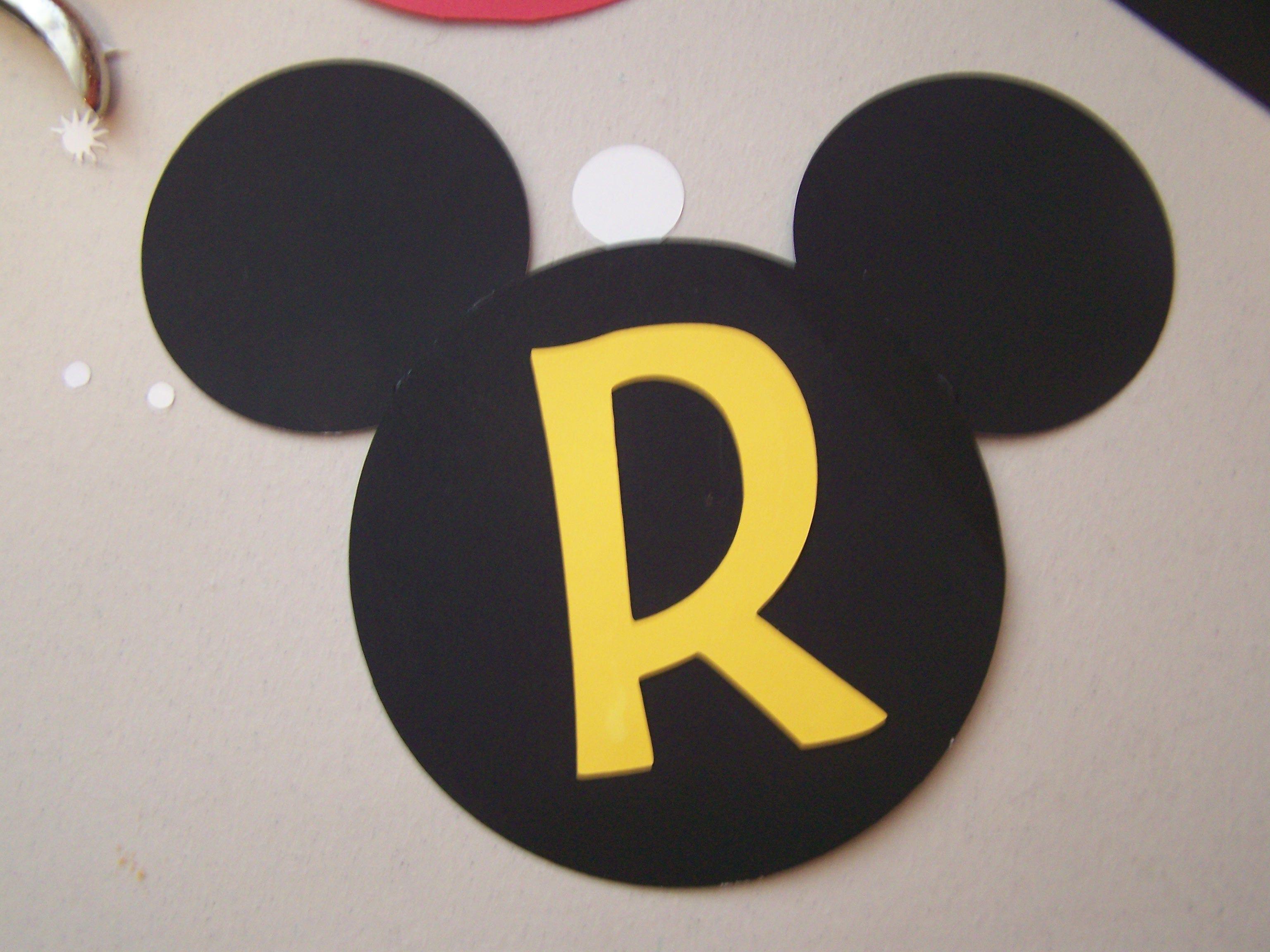Mickey Mouse, Ideas Ara El Cumpleaños De Mi Hijo. El