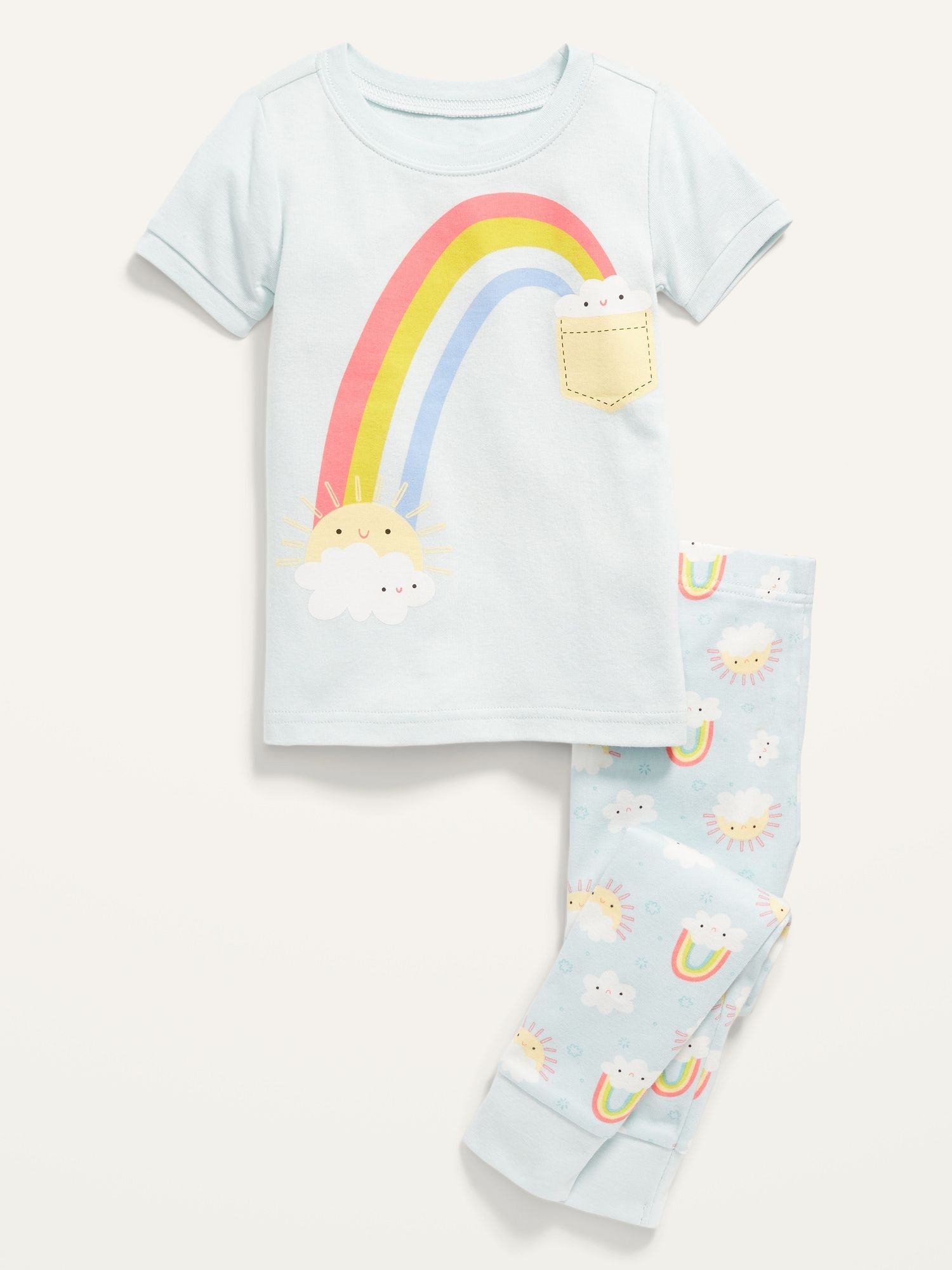 Old Navy Short-Sleeve Pajama Set for Toddler & Bab