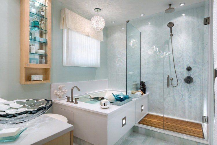 20 salles de bains modernes avec parois de douche en verre - salle de bain moderne avec douche italienne