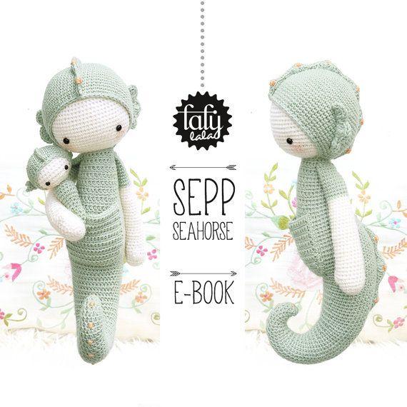 Lalylala caballito de mar SEPP - Patrón de Crochet | Crochet ...