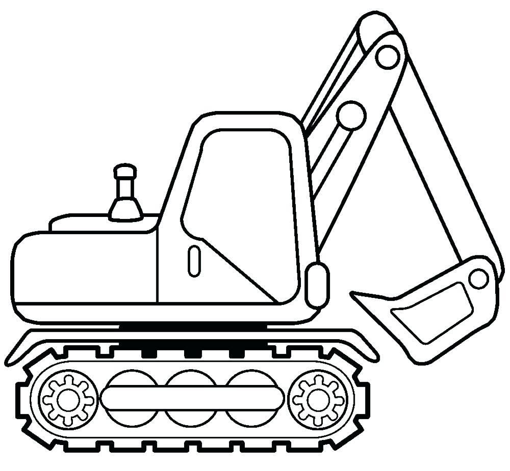 8 Printable Colouring Digger In 2020 Printable Coloring Truck Coloring Pages Printable Coloring Pages