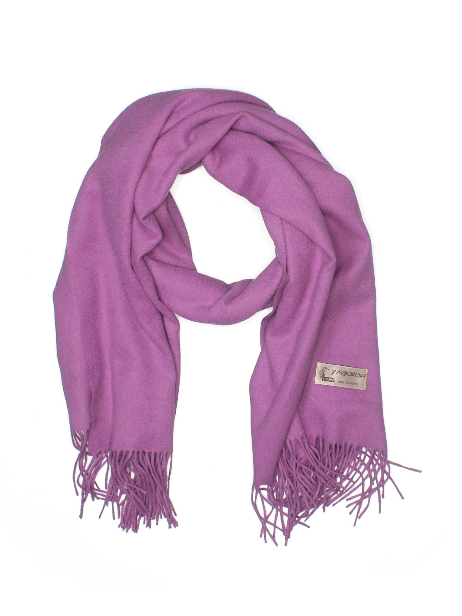 Pashmina Cashmere Scarf Purple Womens Accessories  30867879