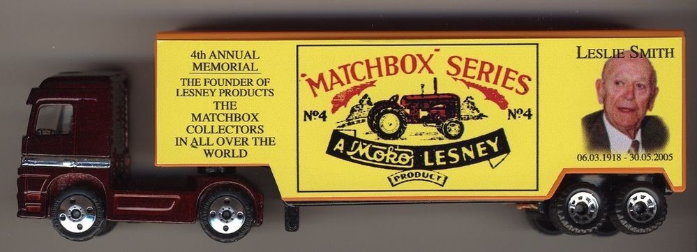 MATCHBOX Convoy LESNEY Number 4