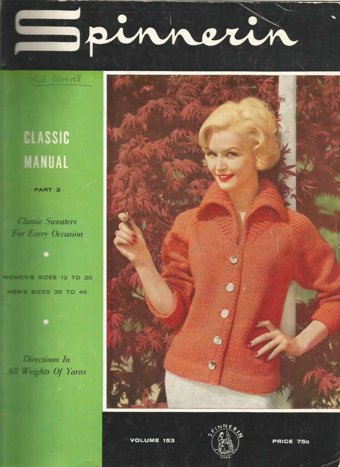 Vintage Spinnerin Classic Sweaters For Every Occasion Woman's & Men's…