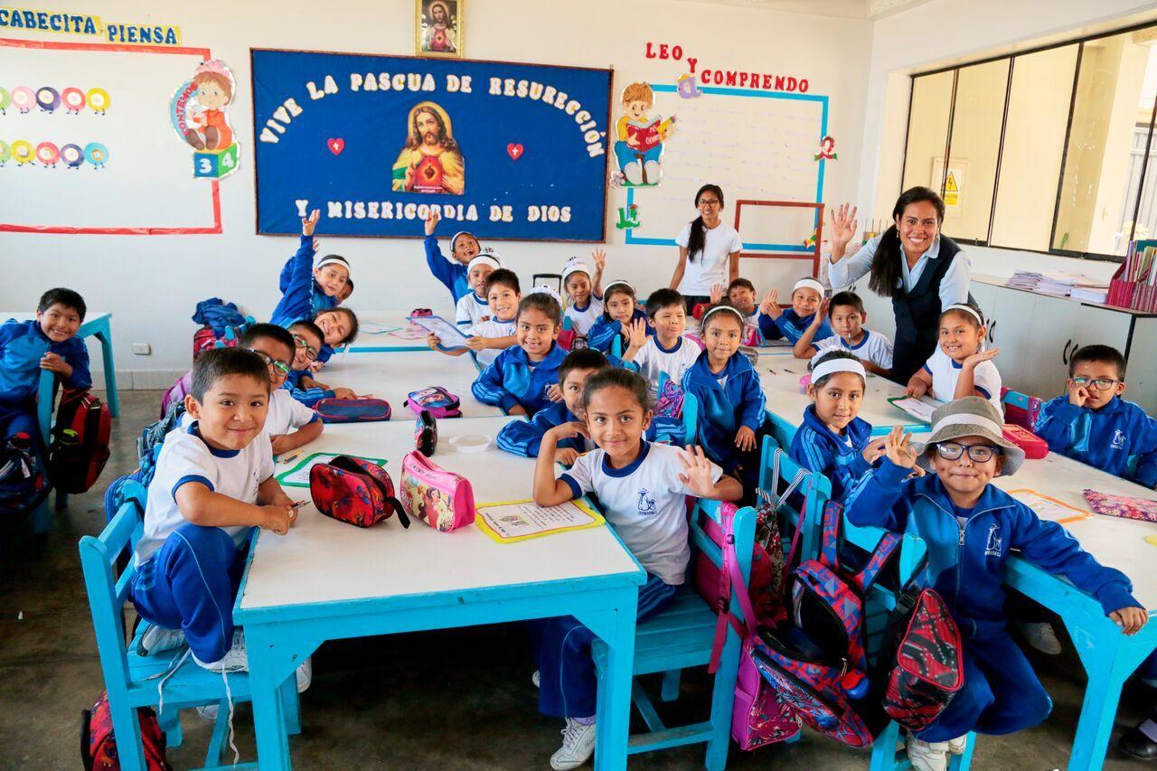 A Coprodeli classroom in Peru ASGiveHope Charity work