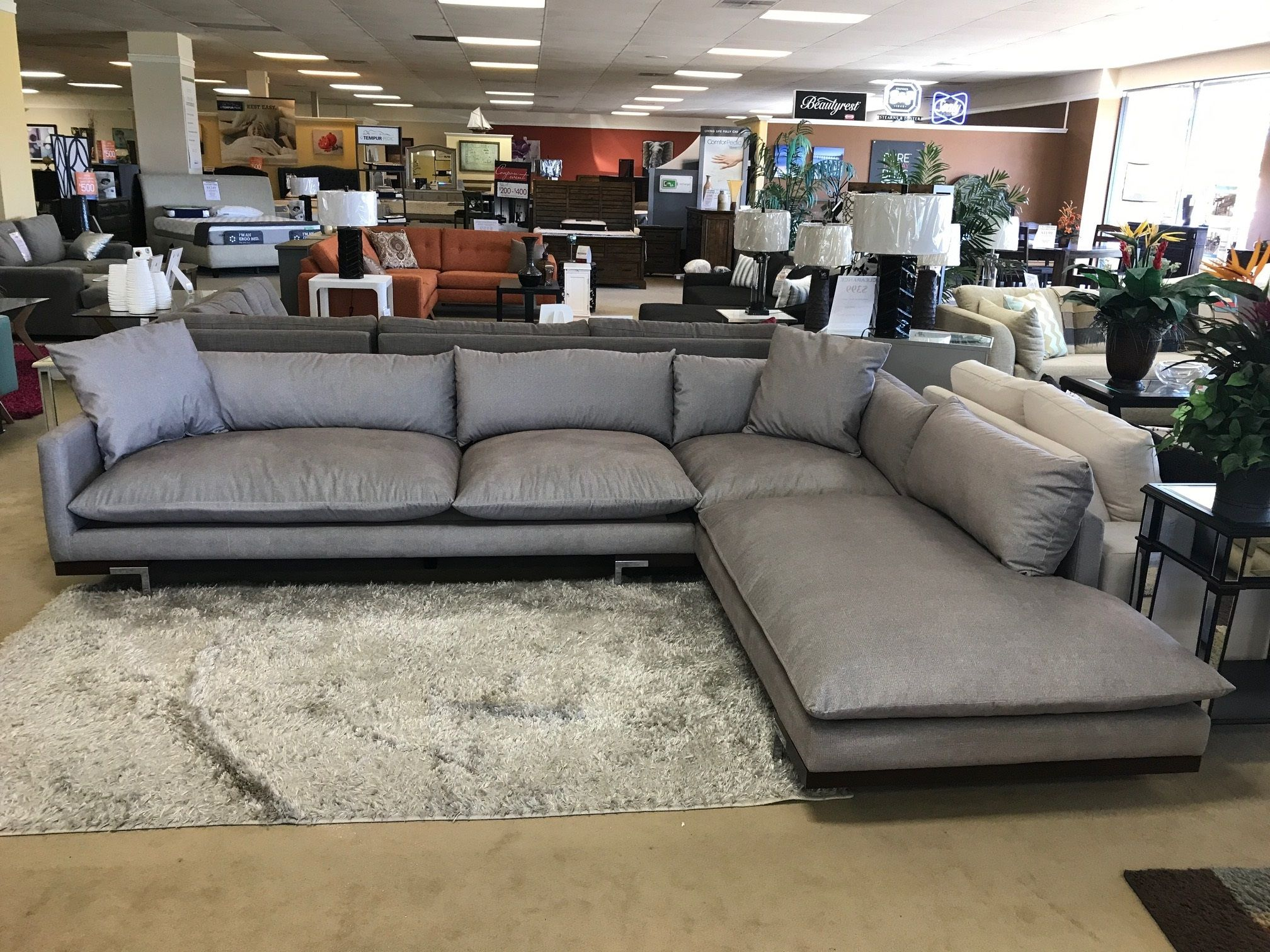 Beverly Custom Sectional by Urban Innovation in 2019 | Custom Sofas ...