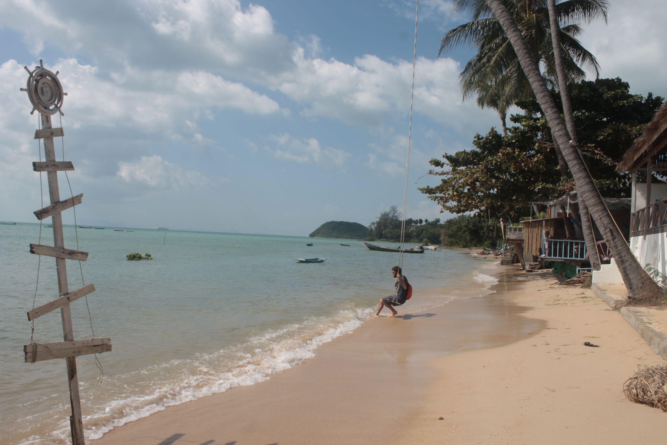 Disfrutando de Lipa Noi Beach 2