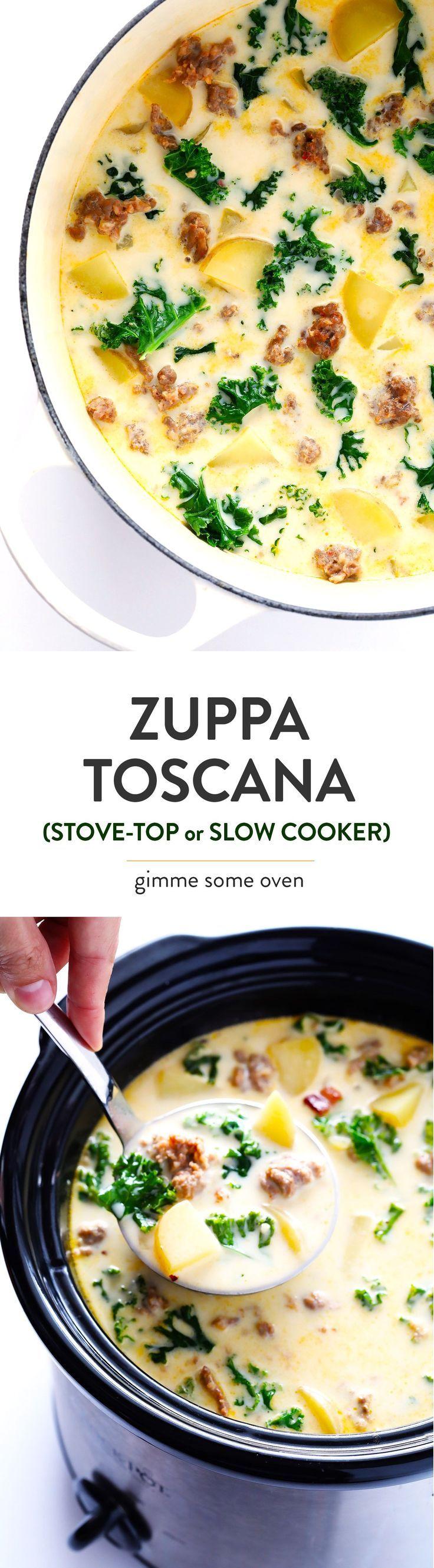 Zuppa Toscana (Olive Garden Copycat) Recipe Olive