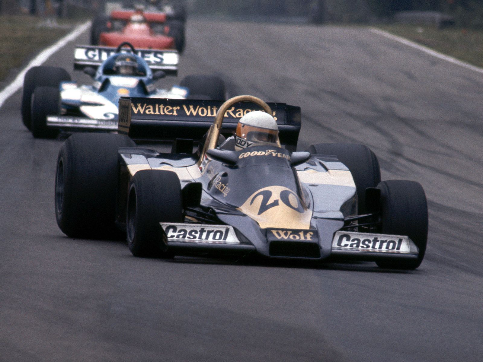 Jody Scheckter Wolf Wr1 Ford 1977 Jody Scheckter Formula One