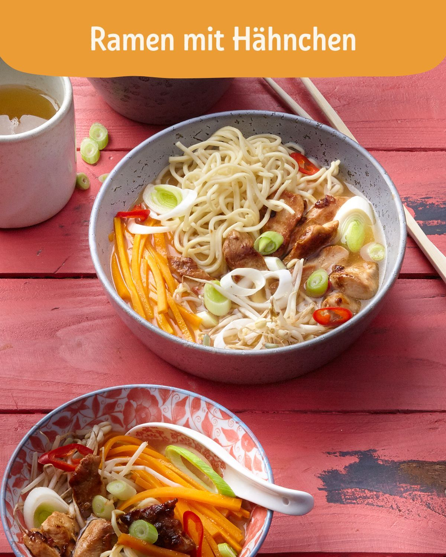 Ramen - Japanische Nudelsuppe #meatloafrecipe Ramen ist in Japan eine Art Nationalgericht. Die Rezep...