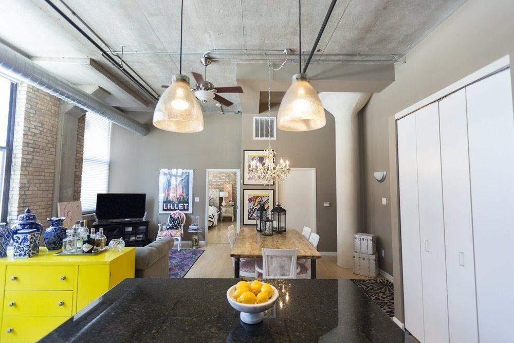 Lianna's Lovely Milwaukee Loft Loft spaces, Small space