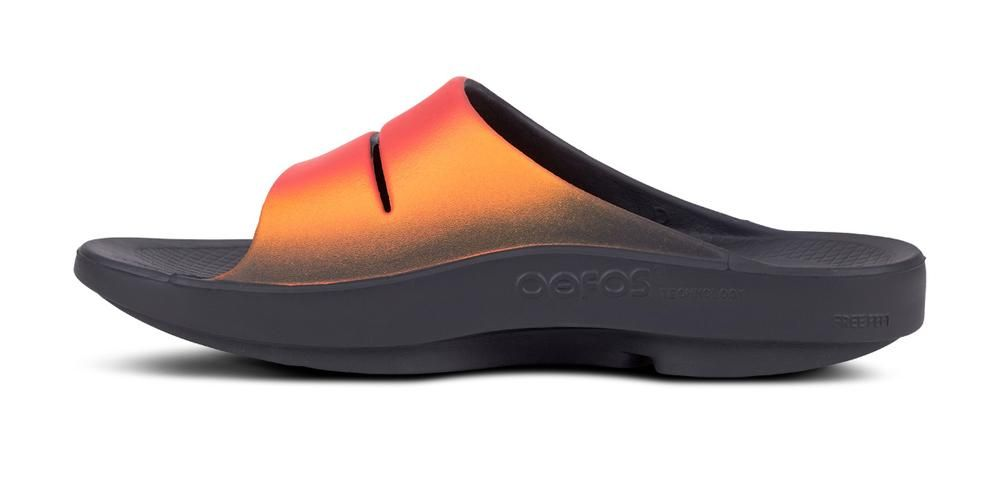 18f4794d4 Men s OOahh Sport Slide Sandal - Flame in 2019