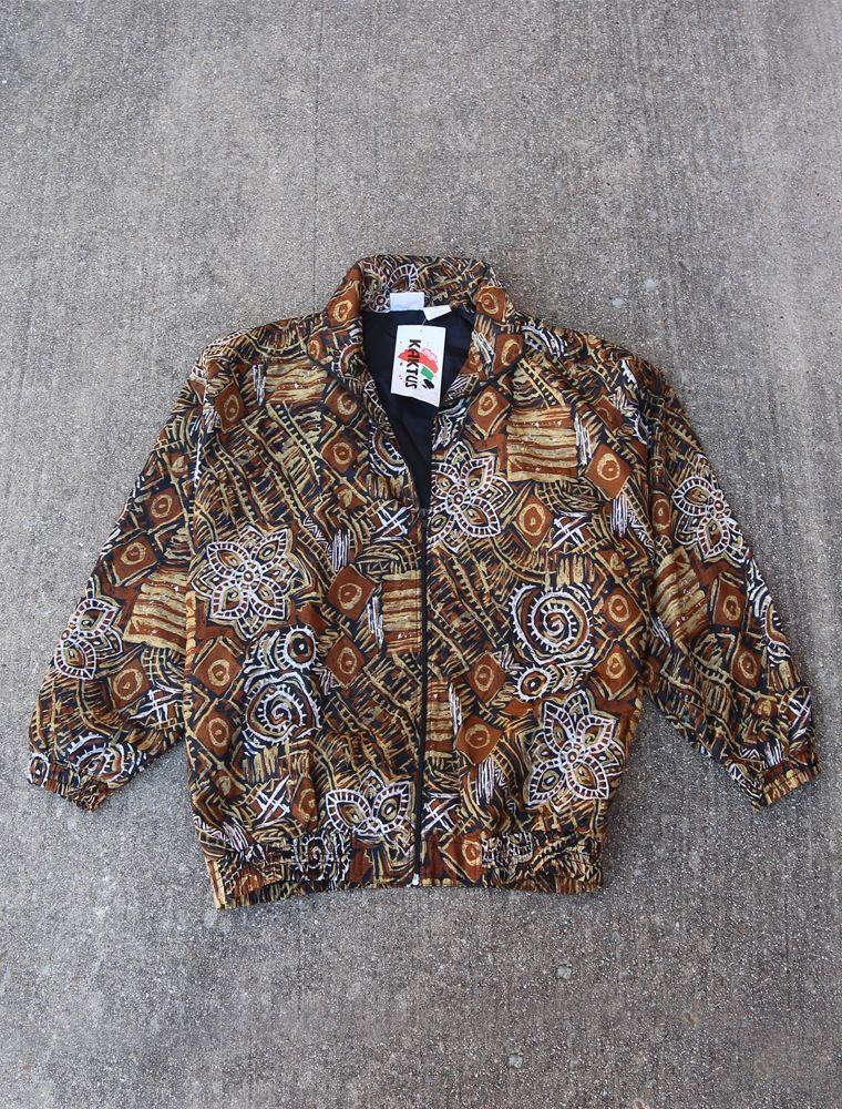 Navajo Silk Jacket Large