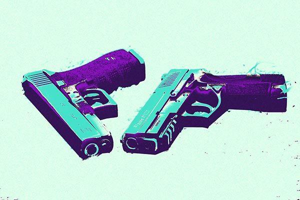 Bang Bang #2 By Fabrizio Canvas Print #ICA806