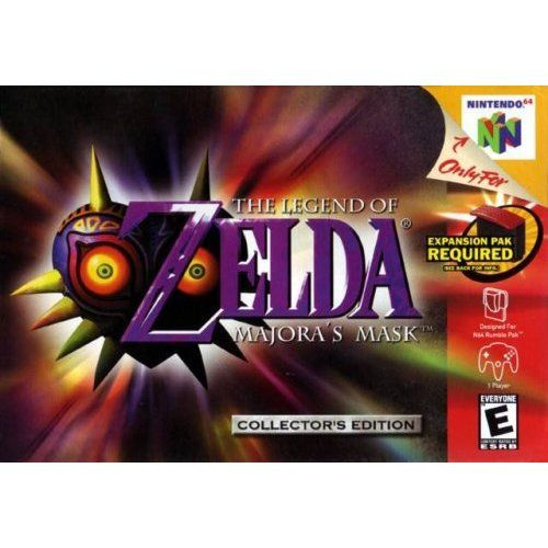 Amazon Com The Legend Of Zelda Majora S Mask Collector S Edition Video Games Majoras Mask Zelda Wii Legend Of Zelda