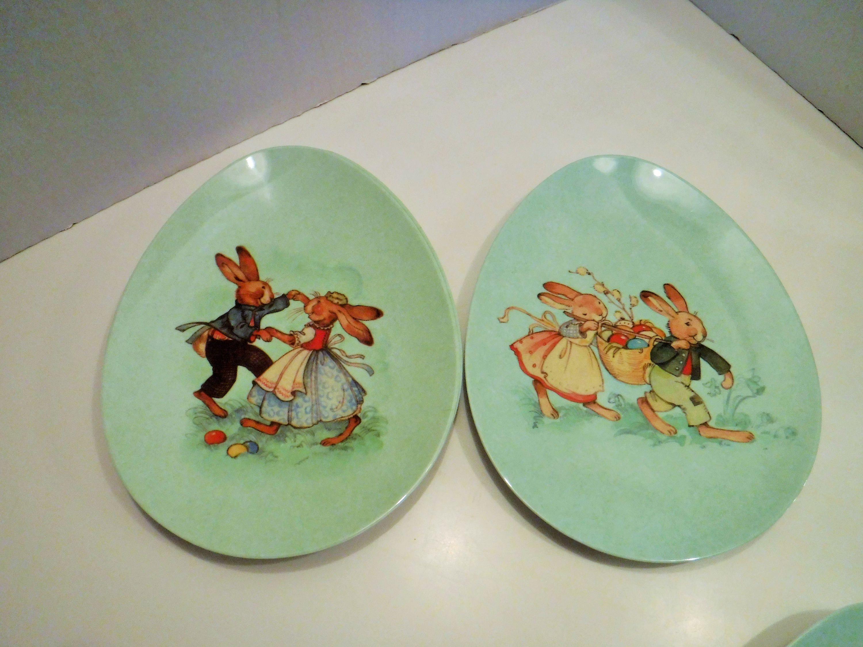 Kids Plastic Plates World Market Easter Plates Bunny Plates Rabbit Plates Unbreakable Plastic Plates For Kids Springtime Plate Decor Bunny Plates Rabbit Plate Plastic Plates