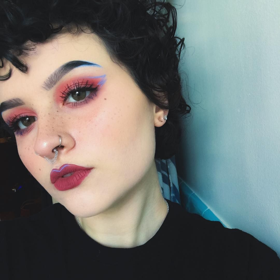 Empty nose piercing  necromancing  styles sexy  Pinterest  Venus Eye and Makeup