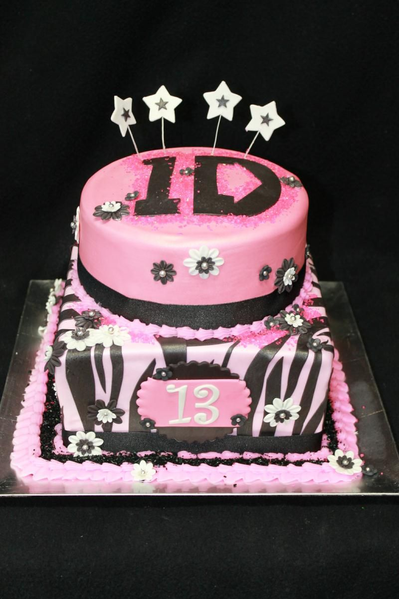 zebra one direction cake why didnt i do this for mine Cakes