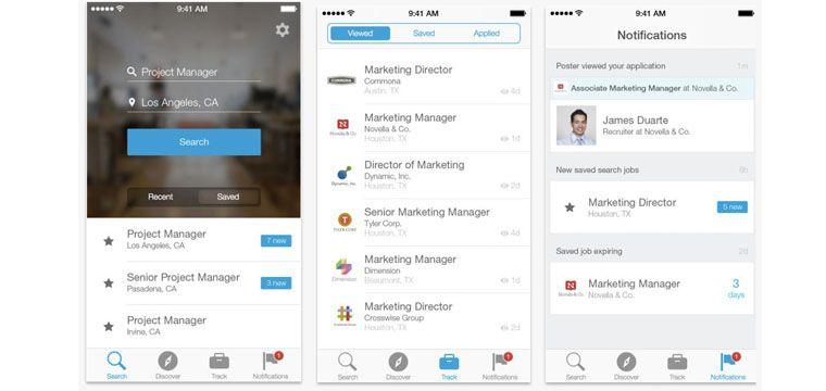 Linkedin Releases A New Ios App For Job Seekers Details Job Seeker Marketing Jobs Linkedin Job