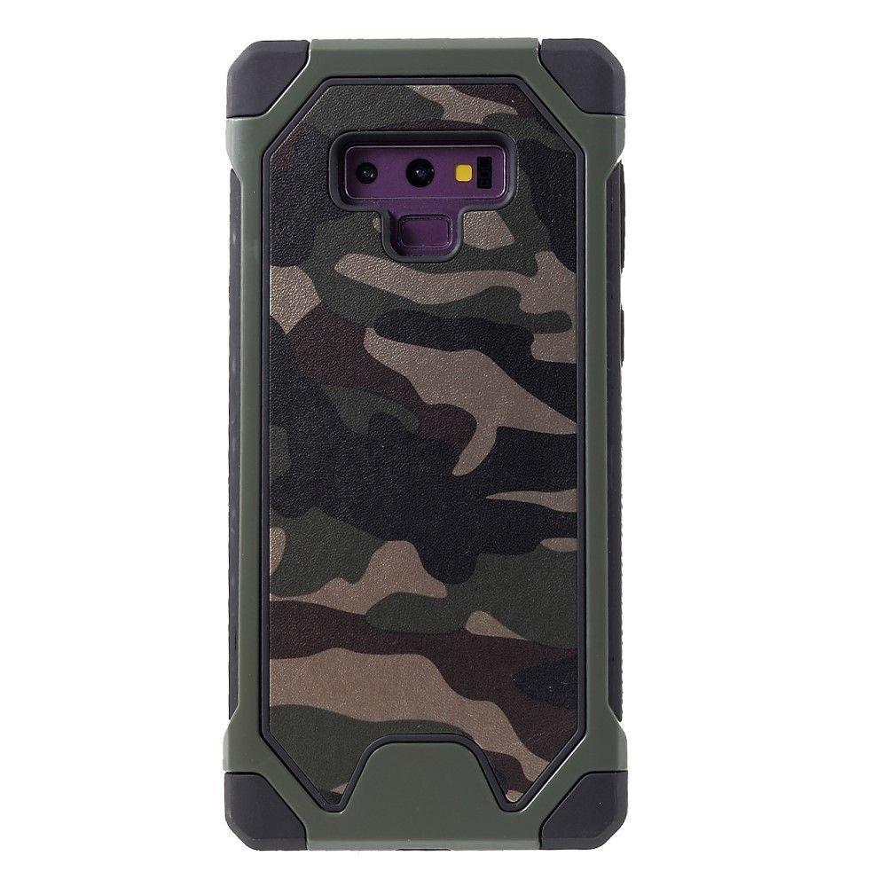 coque note 9 samsung camouflage