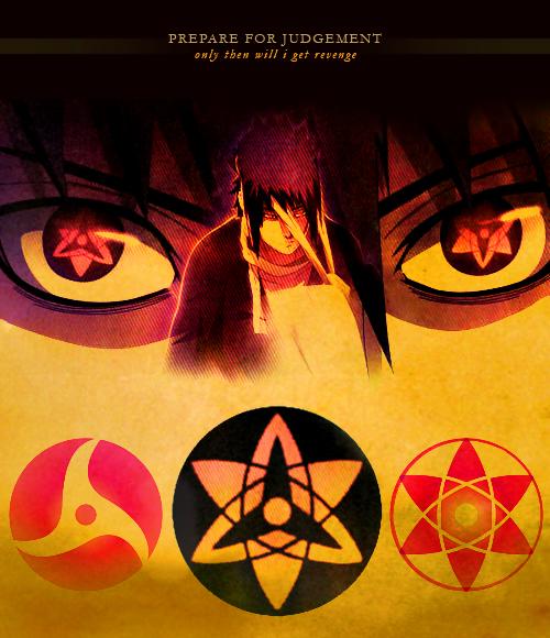 Sasuke + Itachi's Mangekyou Sharingan