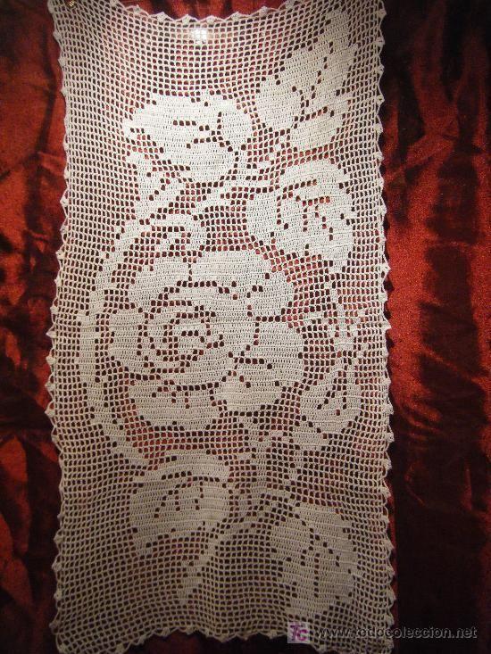 Camino de mesa en crochet patron - Imagui   Vasquez2   Pinterest ...