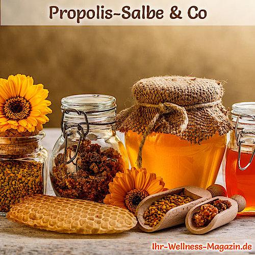 Propolis-Pulver selber machen - Rezept und Anwendungstipps