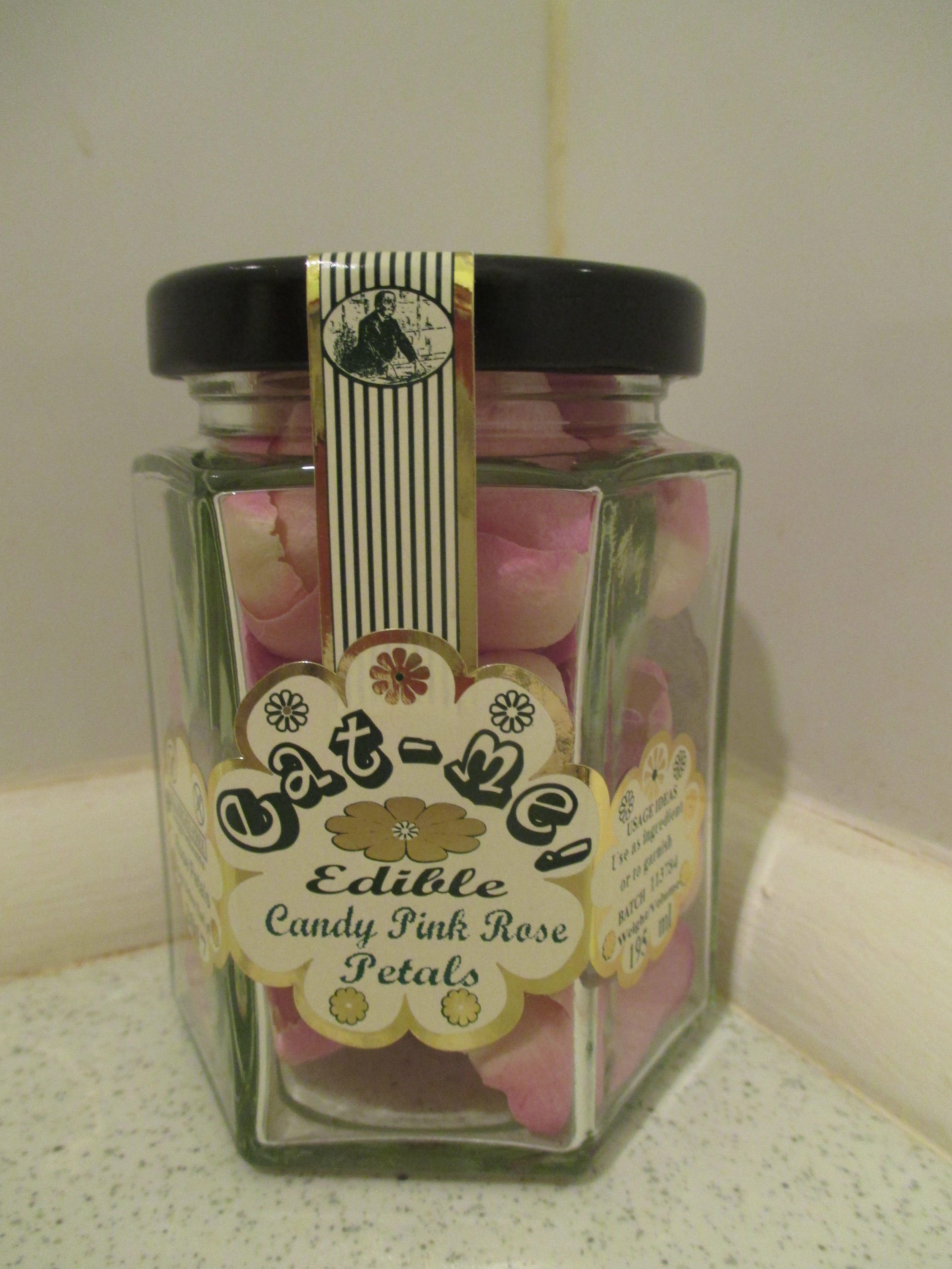 Edible rose petals (Užitni cvetni listi vrtnice) 195ml/5