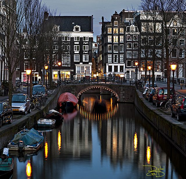 Amsterdam Canal Dream Vacations Wonderful Places Places To Travel