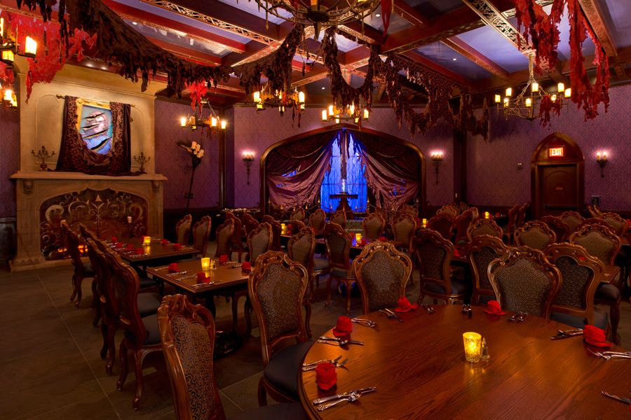 The West Wing At Be Our Guest Restaurant In New Fantasyland For - Be our guest 20 stellar guest room design ideas