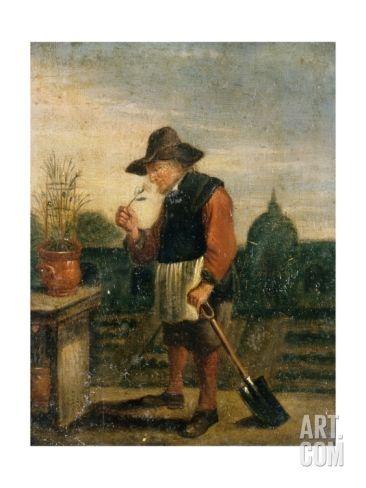 Smell, C.1800 by David Teniers