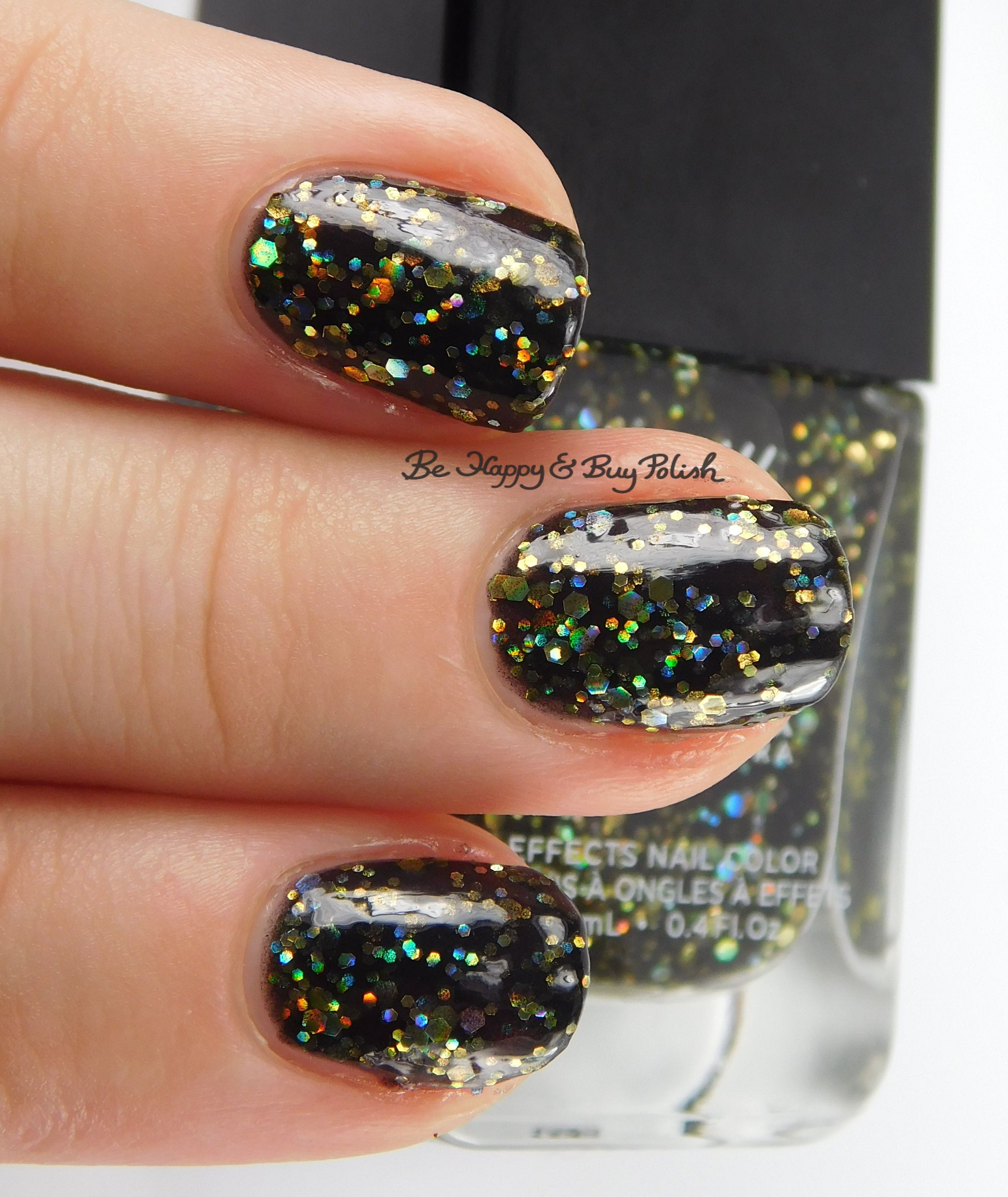 New Year\'s Eve nail art with Formula X Explosive + Moon Walk ...