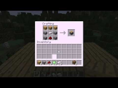 Minecraft How To Make A Piston Recipe How To Make A Sticky Piston