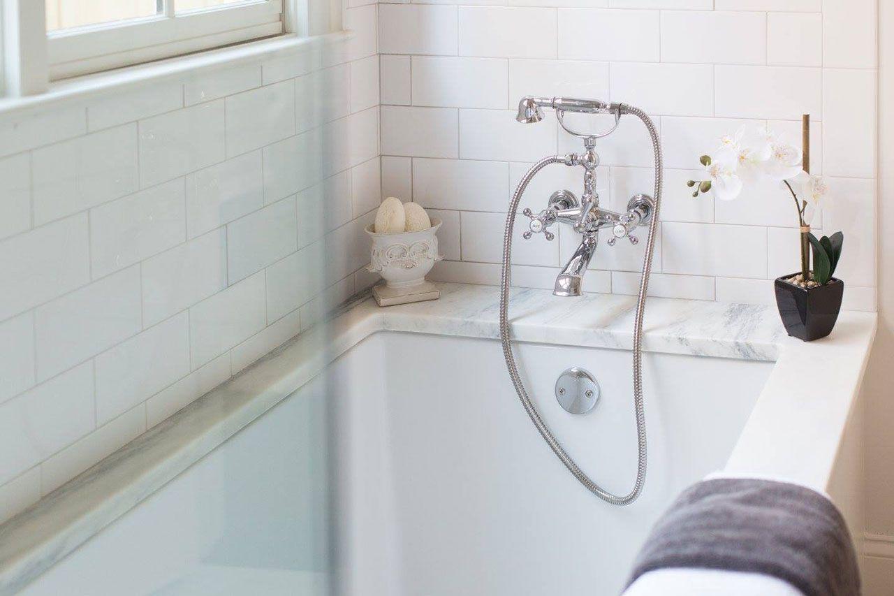 Montclair Danby Marble Bathroom Countertop | Surface One | Marble ...