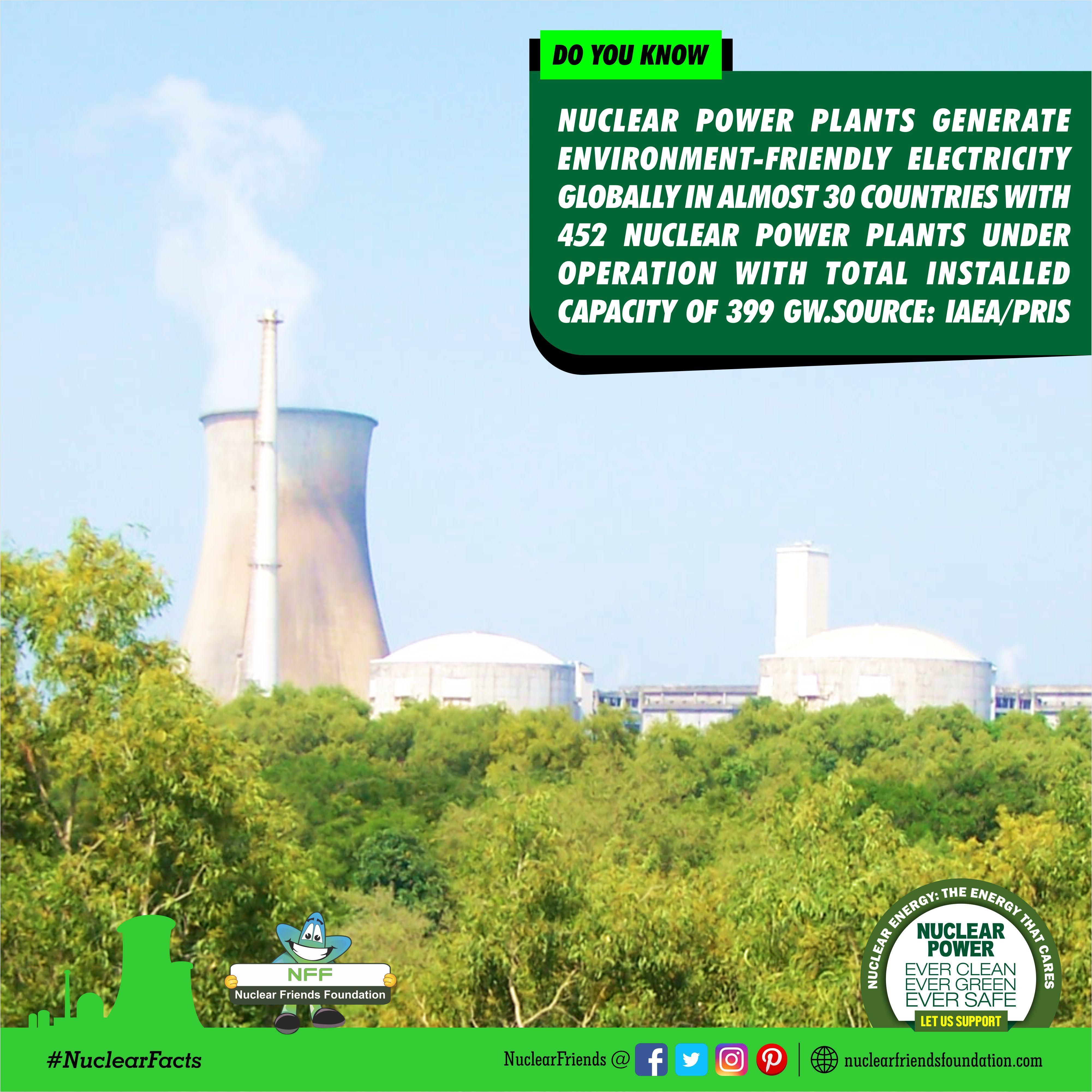 Nuclearfact Nuclear Power Nuclear Power Plant Nuclear Energy