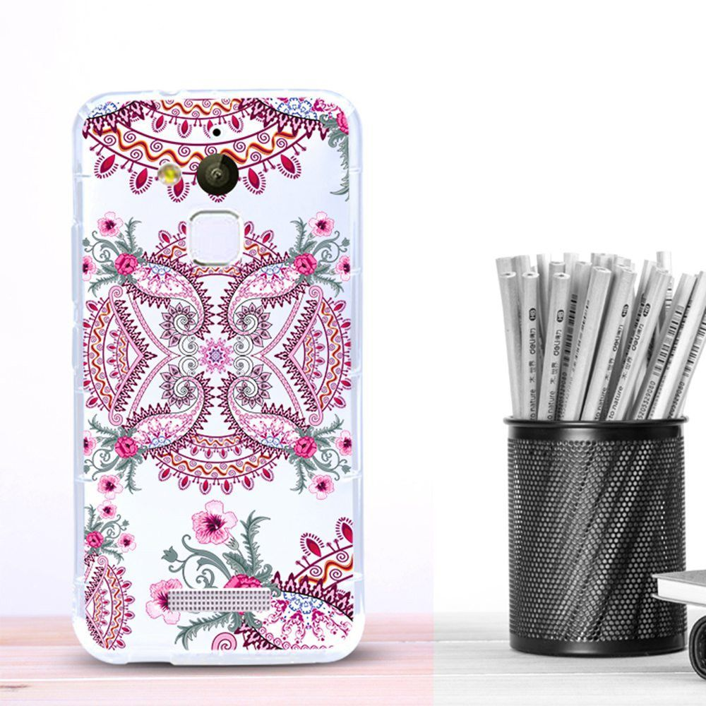 Pegasus Pattern Soft TPU Clear Case for