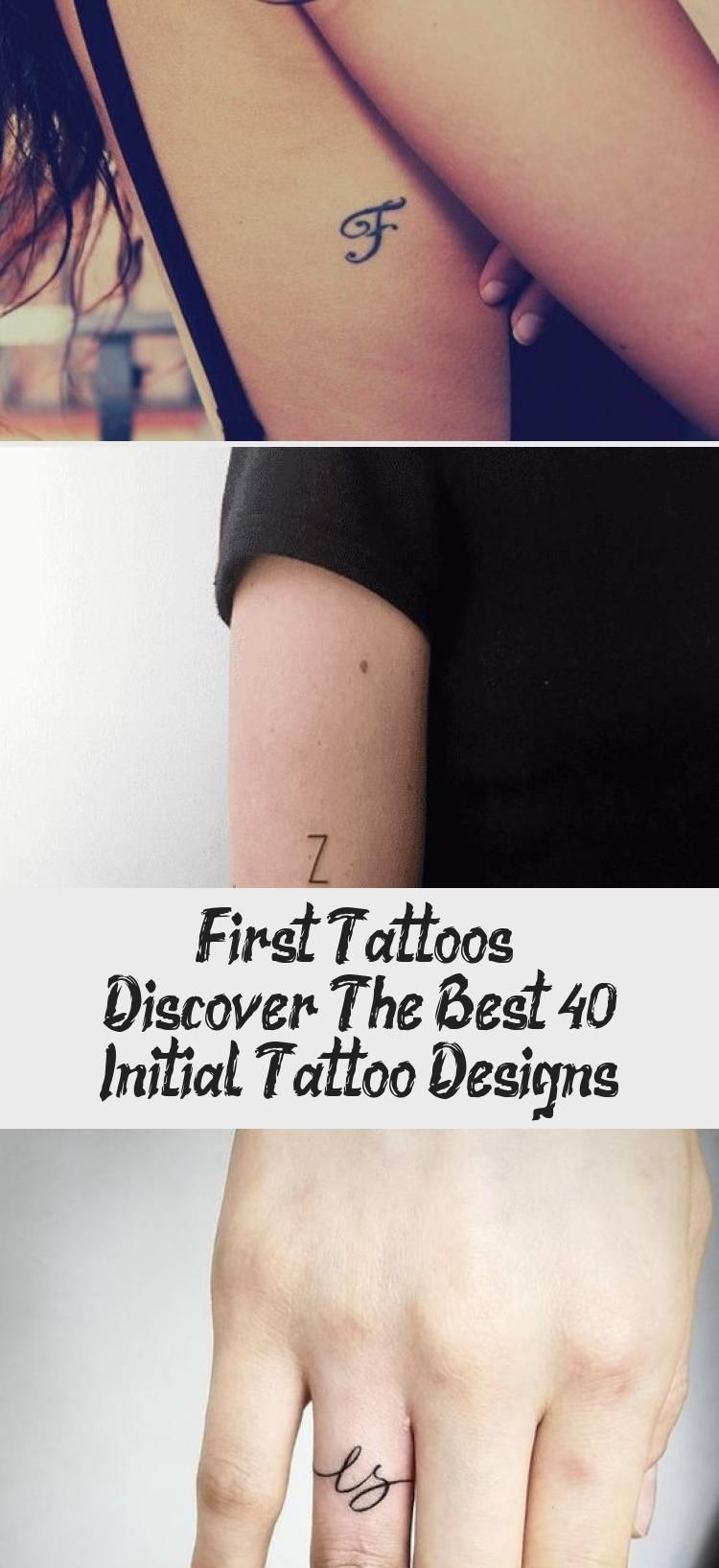 Photo of First tattoos – Discover the best 40+ Initial Tattoo Designs  #designs #discover…