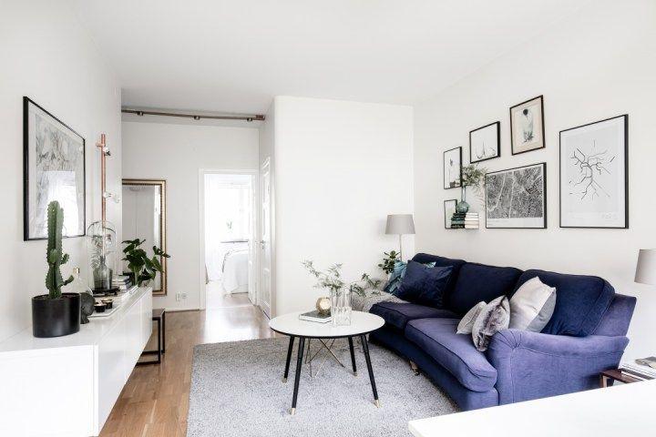 La decoración de un piso pequeño debe ser sobretodo funcional