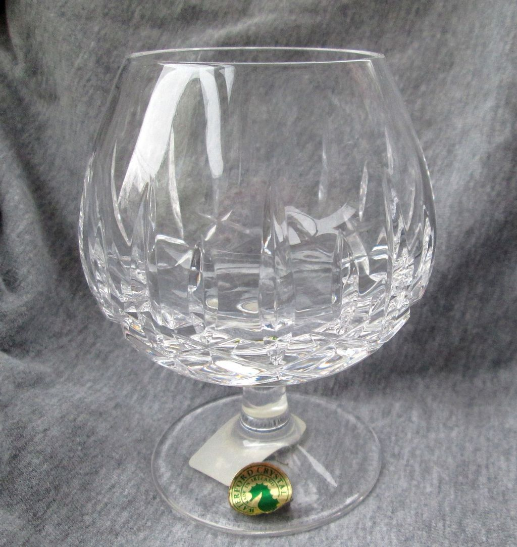 Waterford crystal mourne brandy snifter balloon stem vintage new waterford crystal mourne brandy snifter balloon stem vintage new with label reviewsmspy