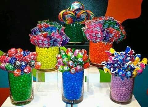 Cilindros multicolor