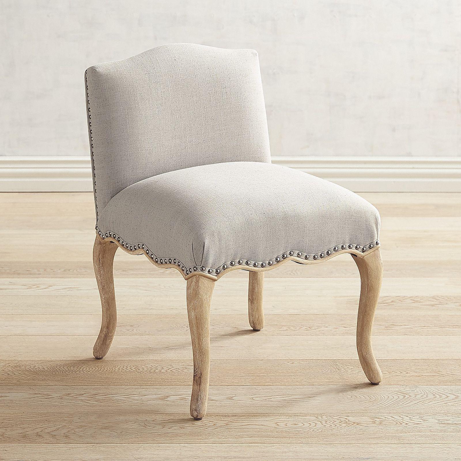 Claudine shadow gray vanity stool pier 1 imports
