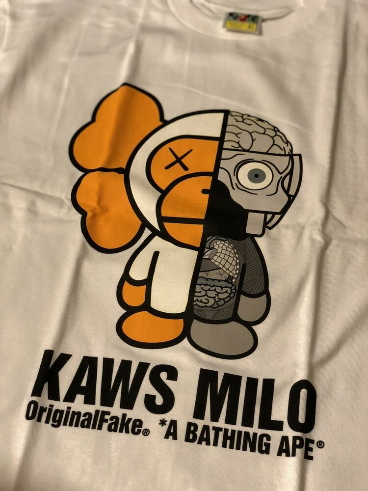 Pop Culture Poster Kaws Bape Prints Milo and Friends 2 Poster Hypebeast Poster