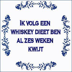 I'm following a whiskey diet, I already lost 6 weeks ;)