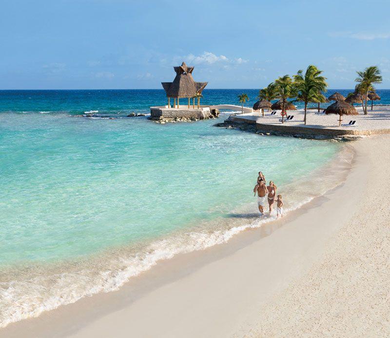 The Beach At Dreams Puerto Aventuras Resort In Puerto