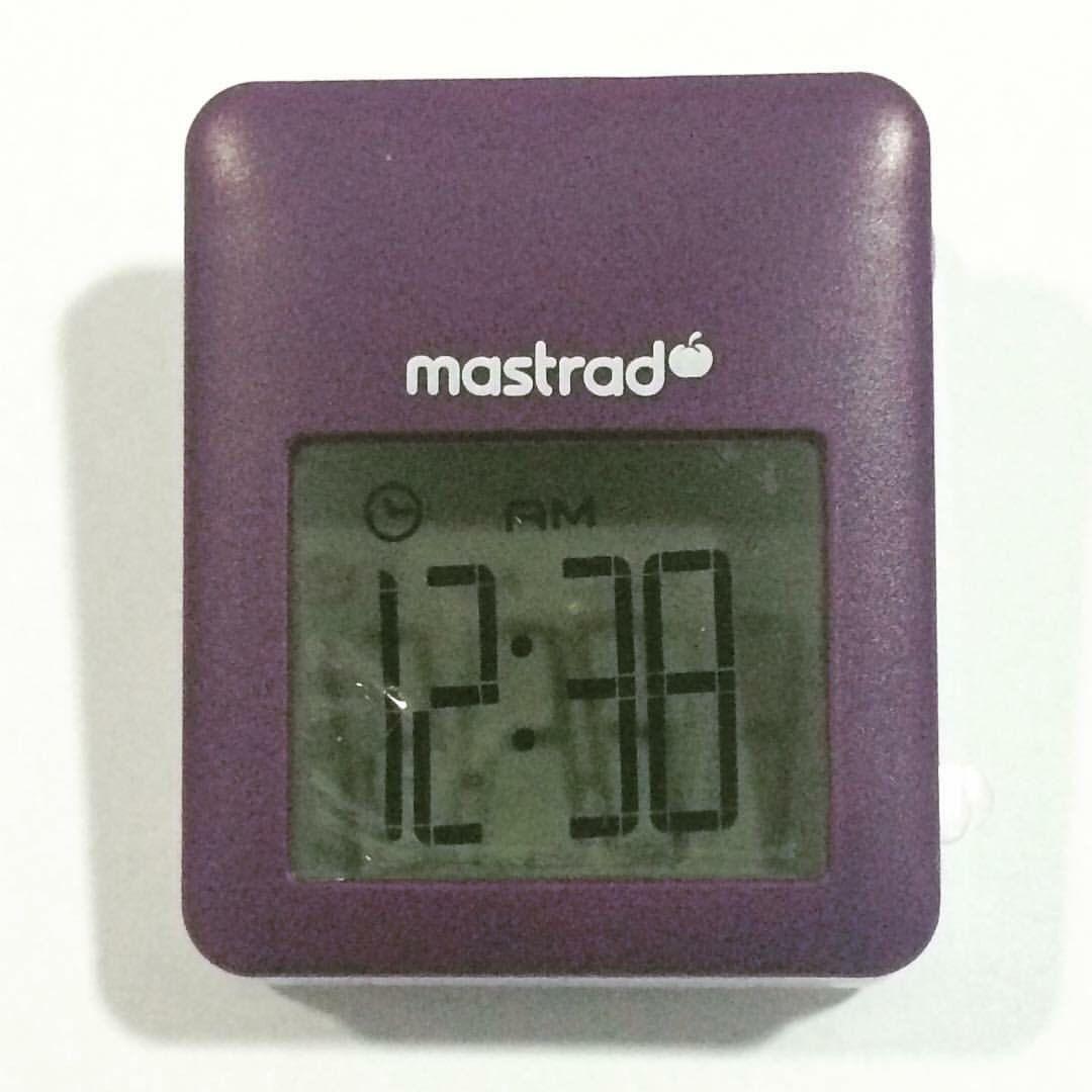 Com o timer digital de lapela não tem como queimar a receita no forno!   #30ideias30dias #cozinha #timer